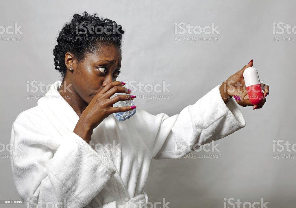 Oversized Pill stock photo