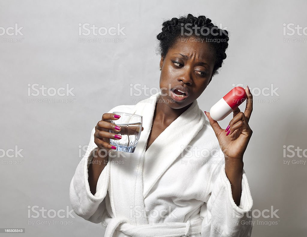 Over-sized Pill stock photo