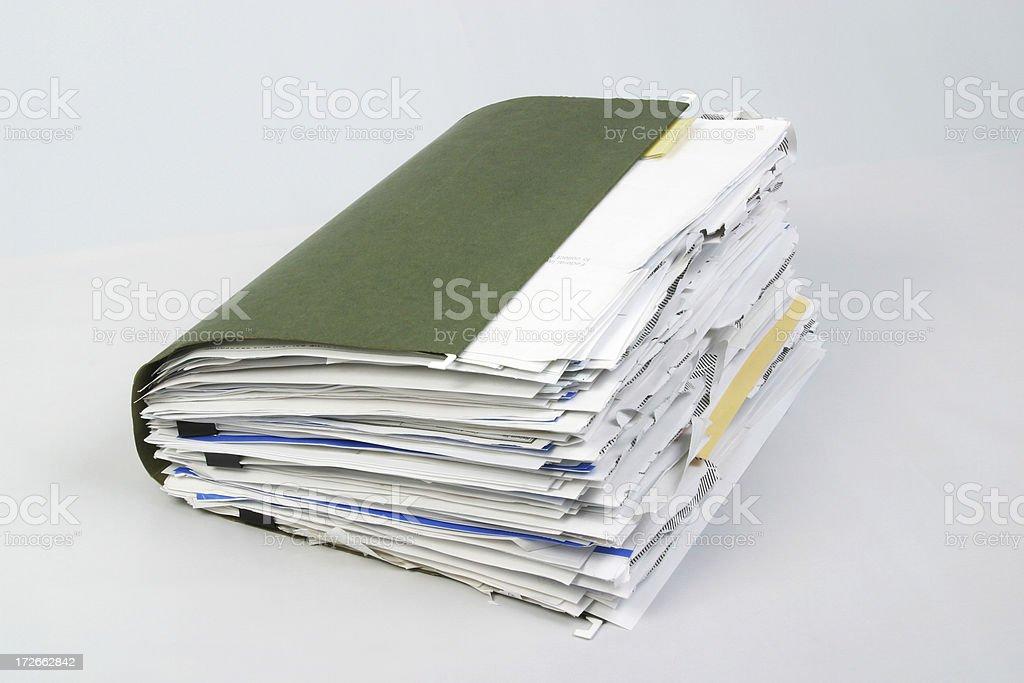 Confortáveis pasta de arquivo 2 - foto de acervo