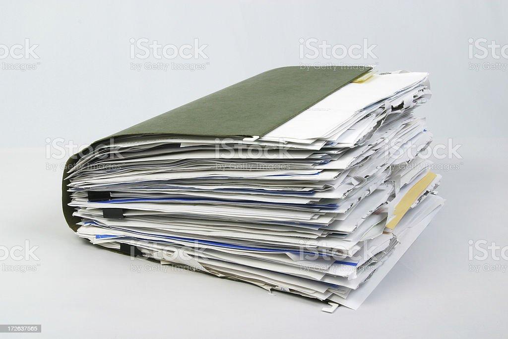 Confortáveis pasta de arquivo 3 - foto de acervo