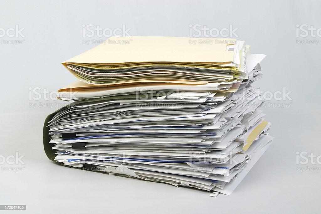 Pastas de arquivo confortáveis documento portfólio de papel - foto de acervo