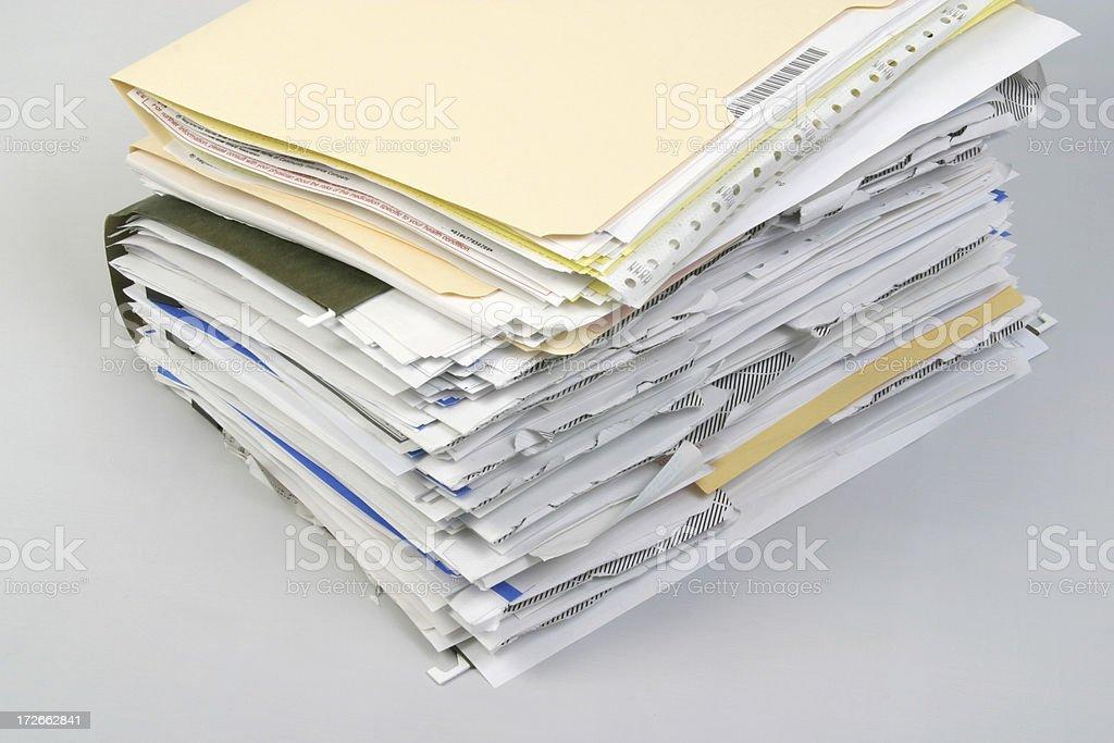 Pastas de Documentos arquivo confortáveis documentos portfólio - foto de acervo