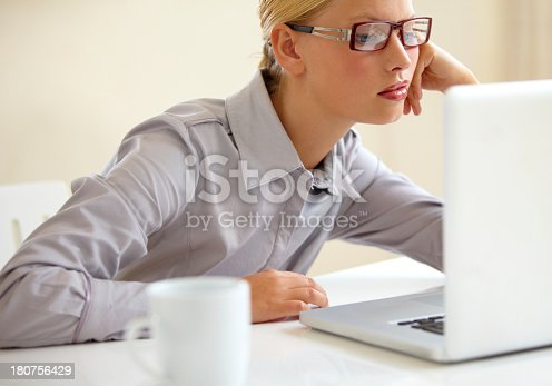 istock Overtired and underpaid 180756429