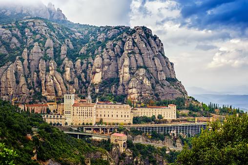 Overview Montserrat monastery