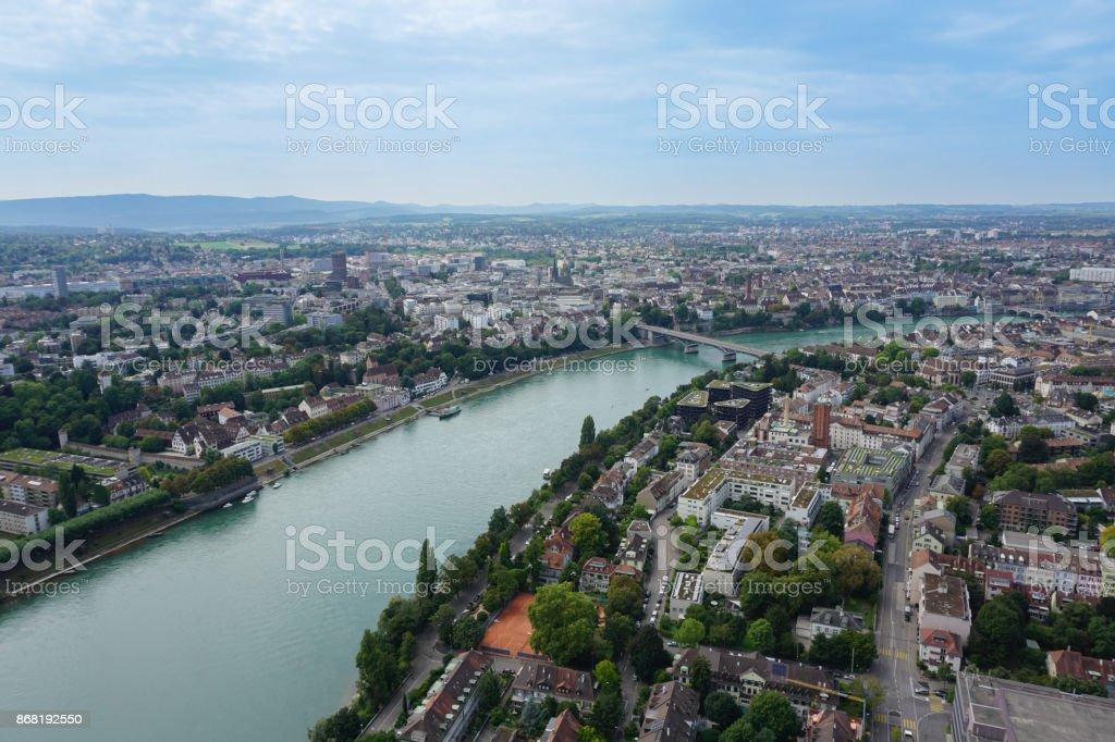 Überblick über Basel Schweiz – Foto