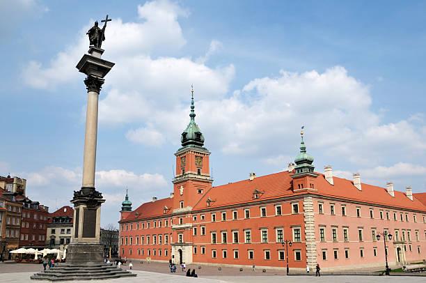 Schlossplatz in Warschau – Foto