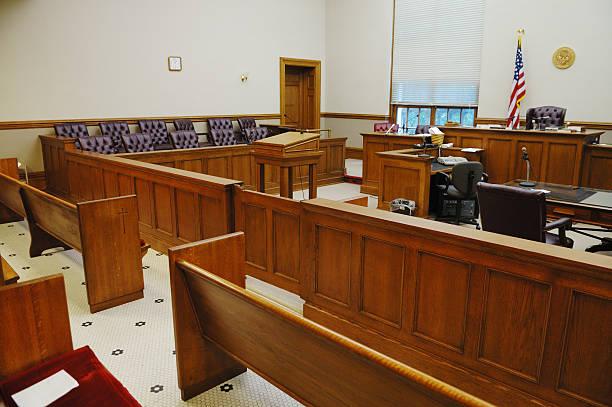 American Gerichtssaal – Foto