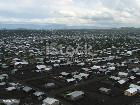 istock Overview Refugee Camp near Goma Republic of Congo Africa 503375917