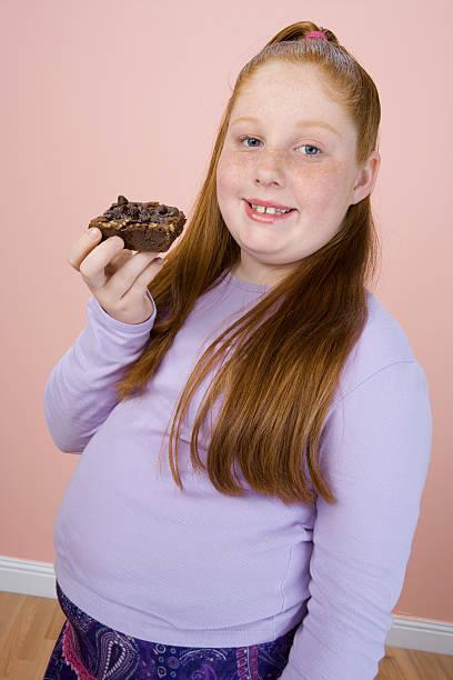 girl Fat belly teenage