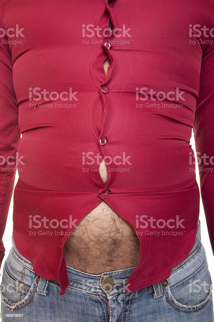 Overweight stock photo
