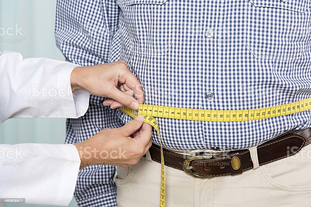 Sovrappeso - Foto stock royalty-free di 70-79 anni