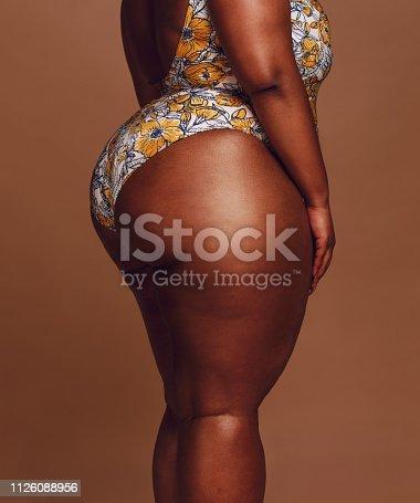 istock Overweight woman body 1126088956