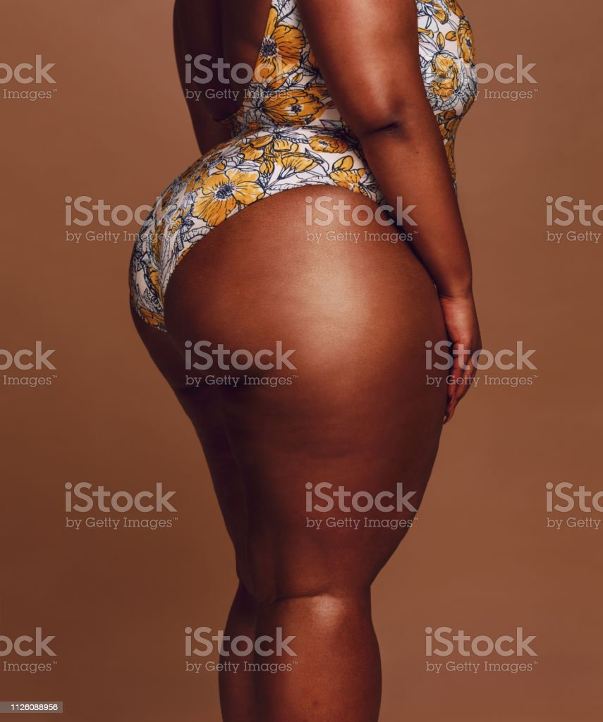 Overweight Woman Body Stock Photo