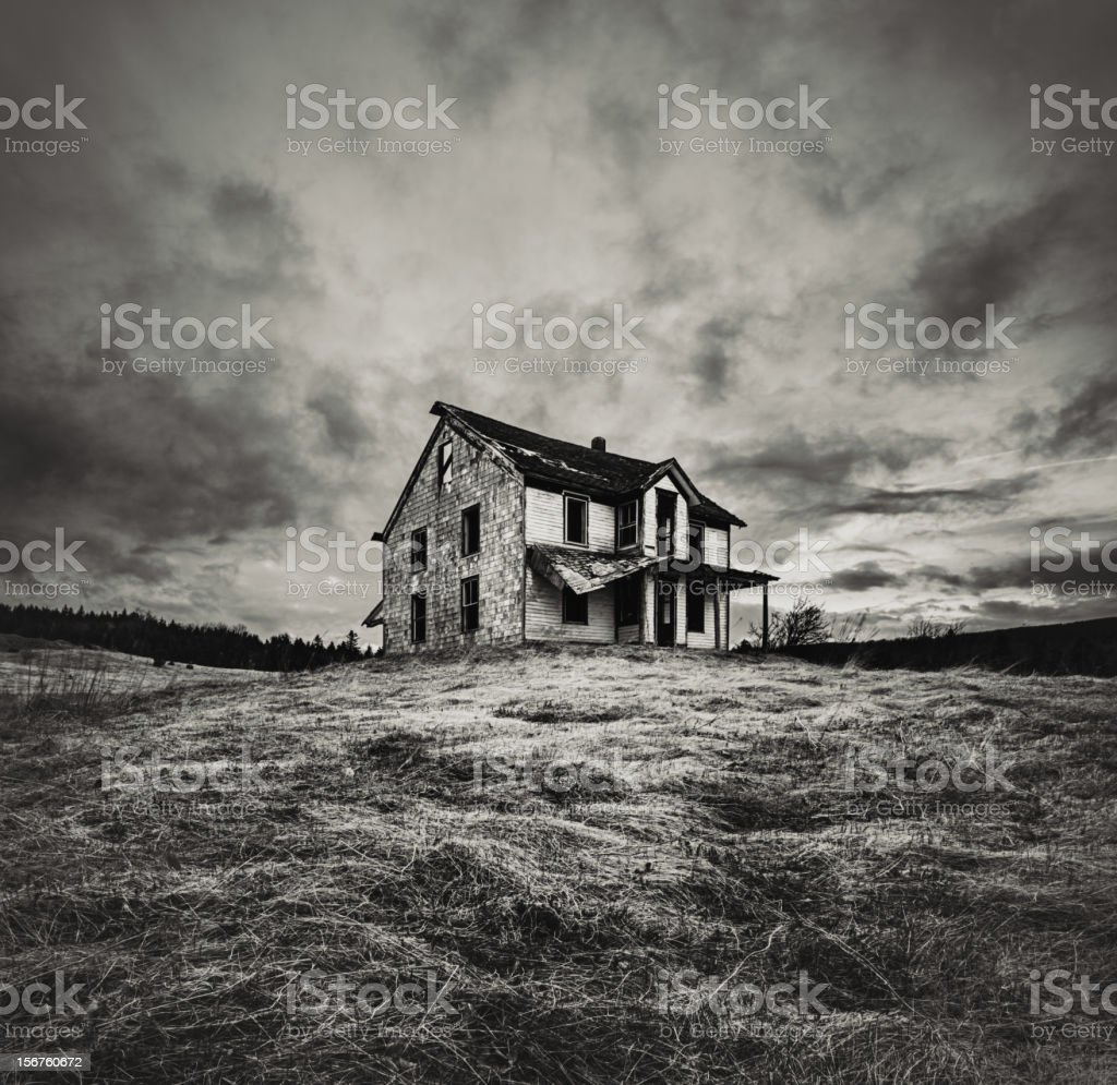 Overwhelming Neglect stock photo