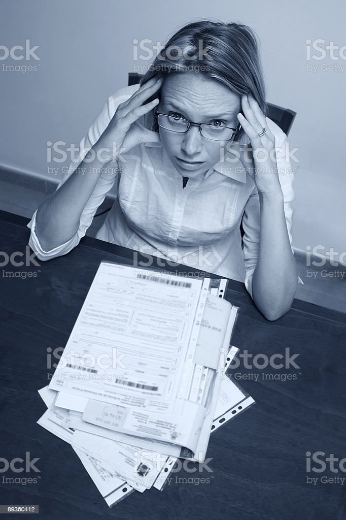 Overwork foto de stock libre de derechos