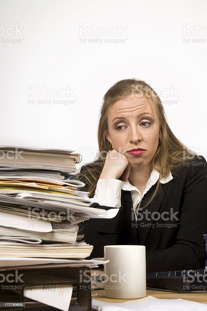 Overworked 3 royalty-free stock photo