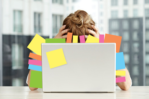 Overworking Stock Photo - Download Image Now