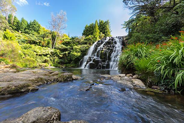 Owharoa Falls, Karangahake Gorge, nahe Waihi. – Foto