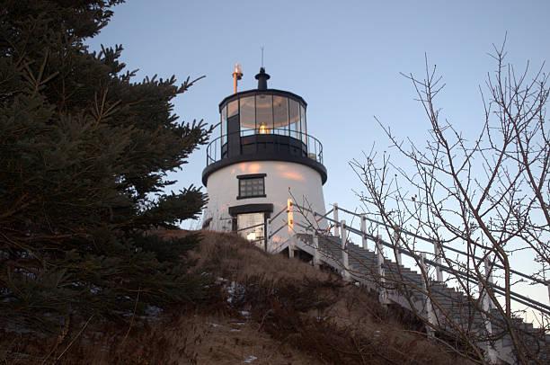 Owl's Head Lighthouse, Rockland ME USA – Foto