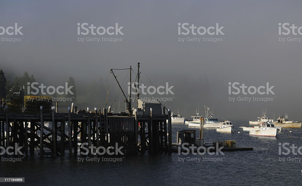 Owls Head, Maine stock photo