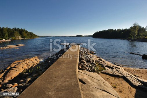 A private jetty at a lake in Sweden. A summer dream!