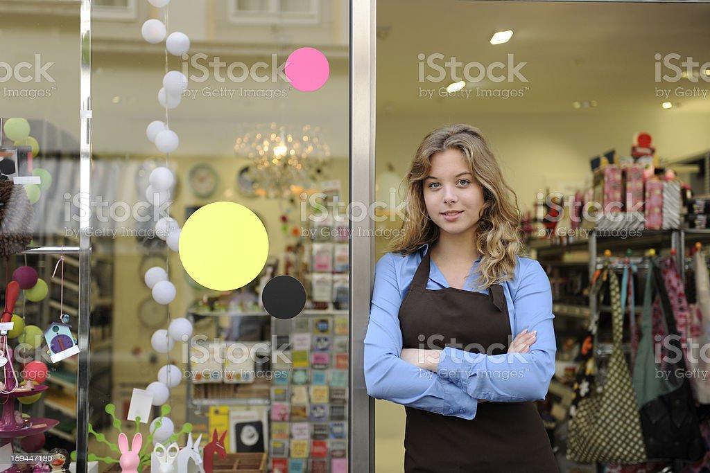 Dueño de un pequeño negocio - foto de stock