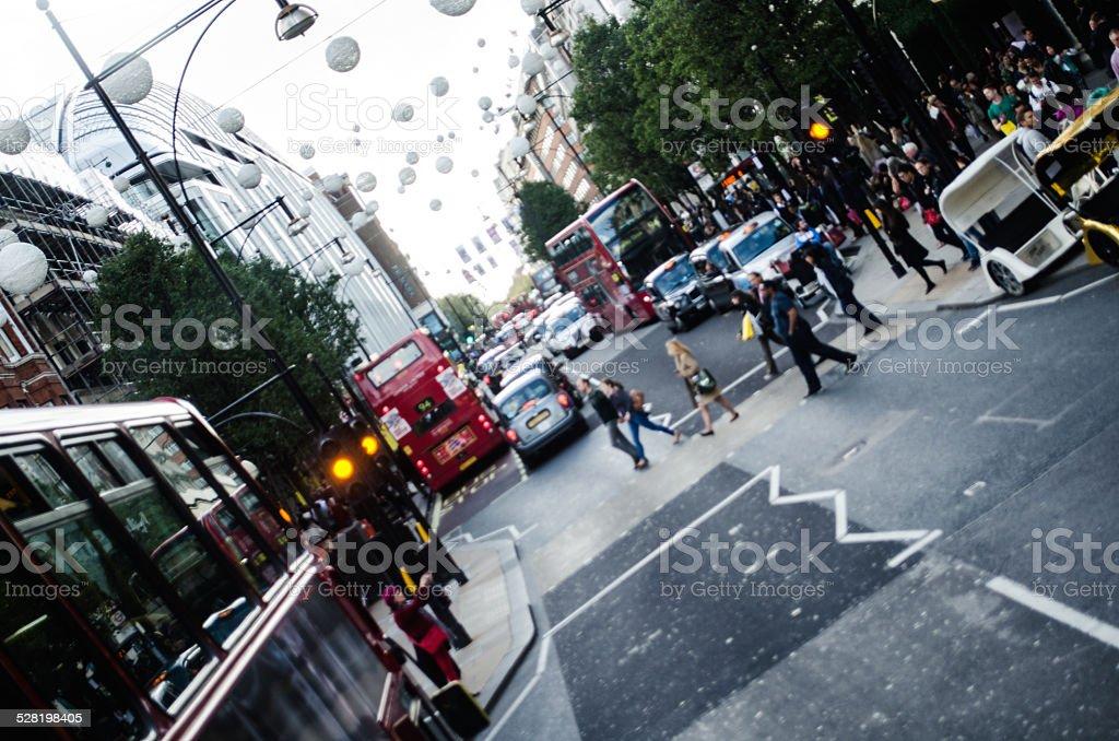 Oxford Circus, London stock photo