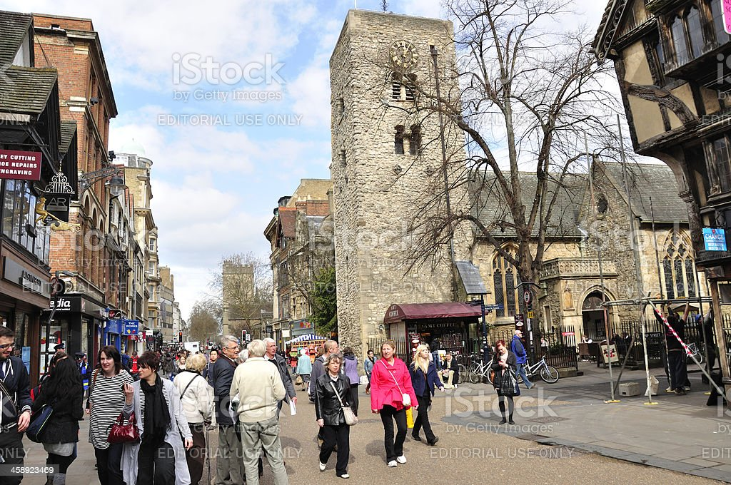 Oxford clock tower – Foto