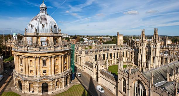 Oxford, England stock photo