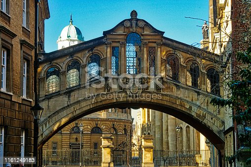 In Oxford University Hertford college has a replica of the bridge of sighs in Venice linking the old and new buildings. It is properly called Hertford Bridge.