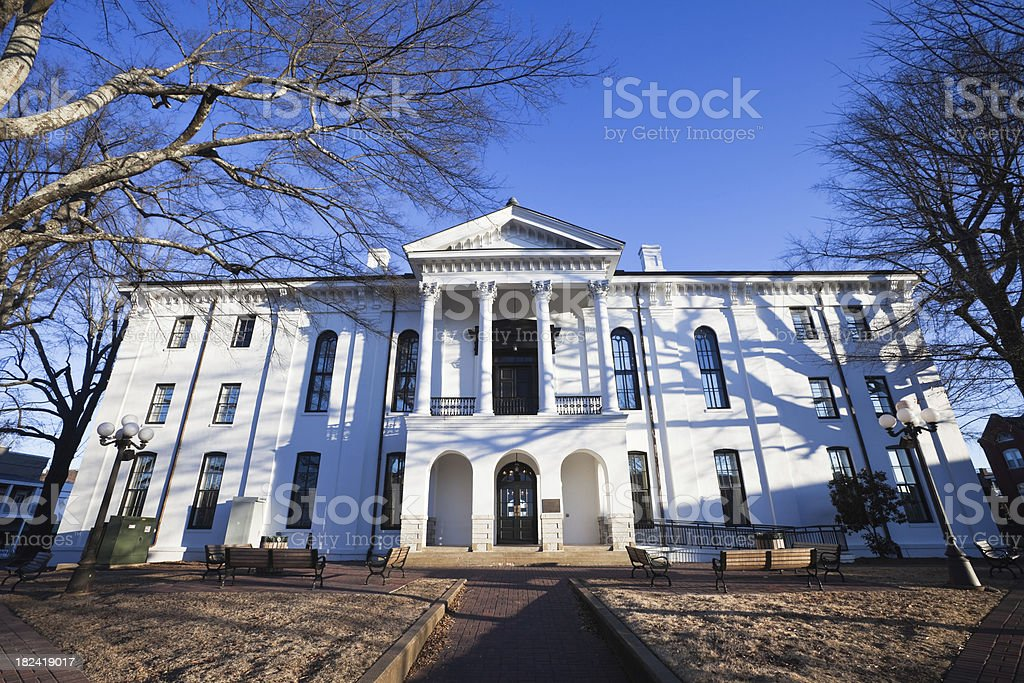 Oxford Mississippi Courthouse stock photo