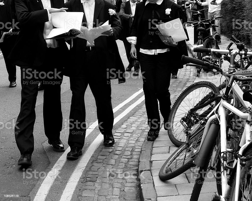 Oxford Scholars royalty-free stock photo