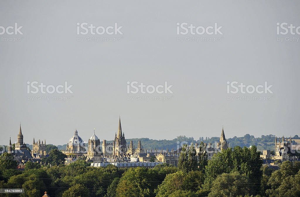 Oxford  Spires royalty-free stock photo