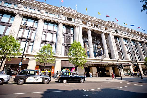 Oxford Street und dem Kaufhaus Selfridges, London – Foto