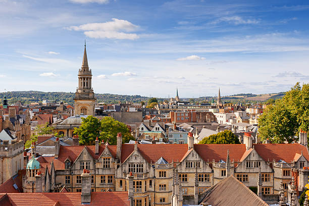 Oxford. UK stock photo