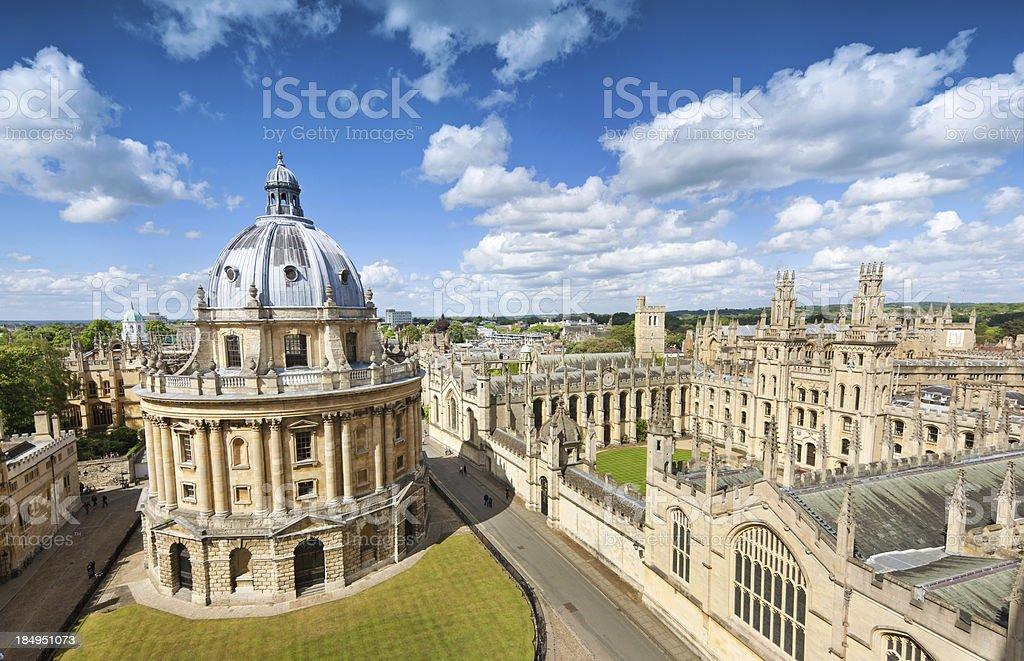 Oxford, UK royalty-free stock photo