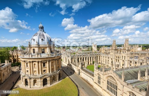 istock Oxford, UK 184951073