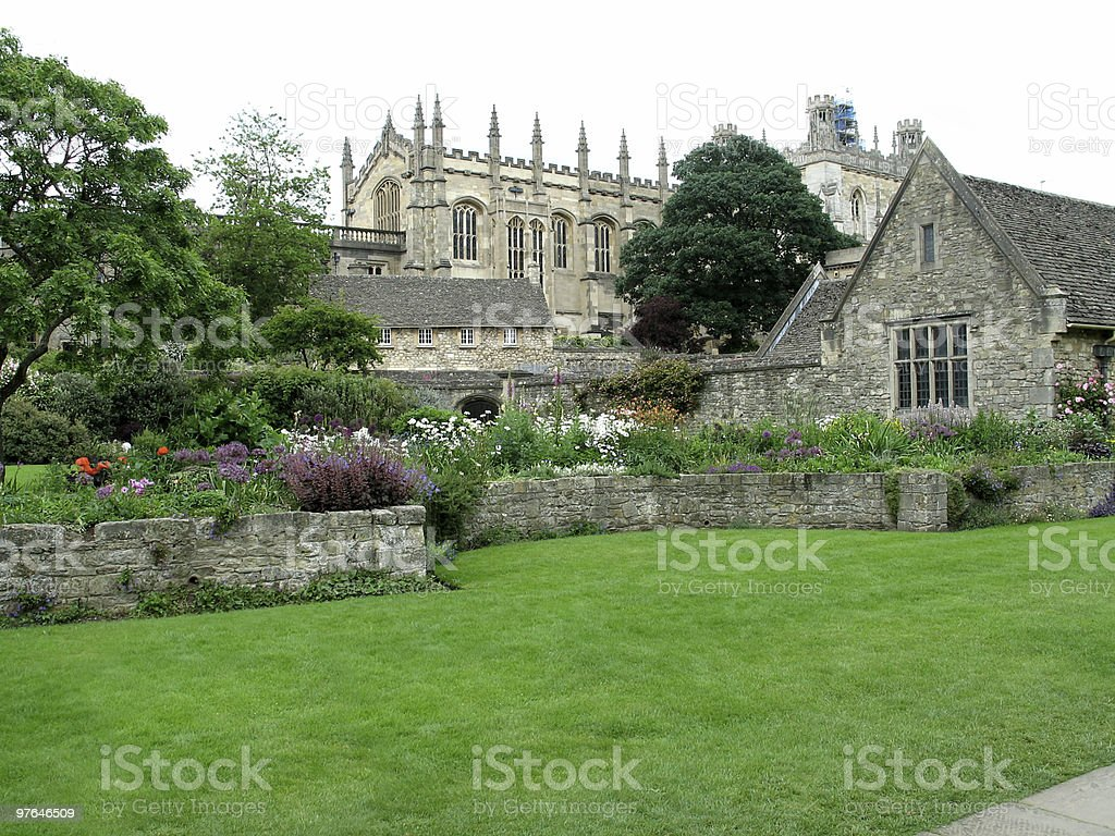Oxford University royalty-free stock photo