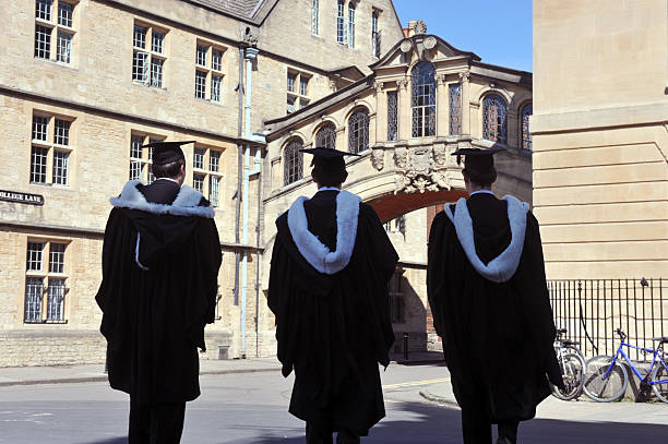 Oxford University Silhouetten – Foto