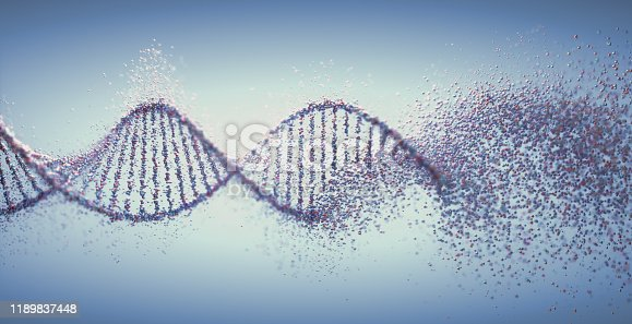 istock Oxidative DNA Damage Genetic Disorder Molecular Structure 1189837448