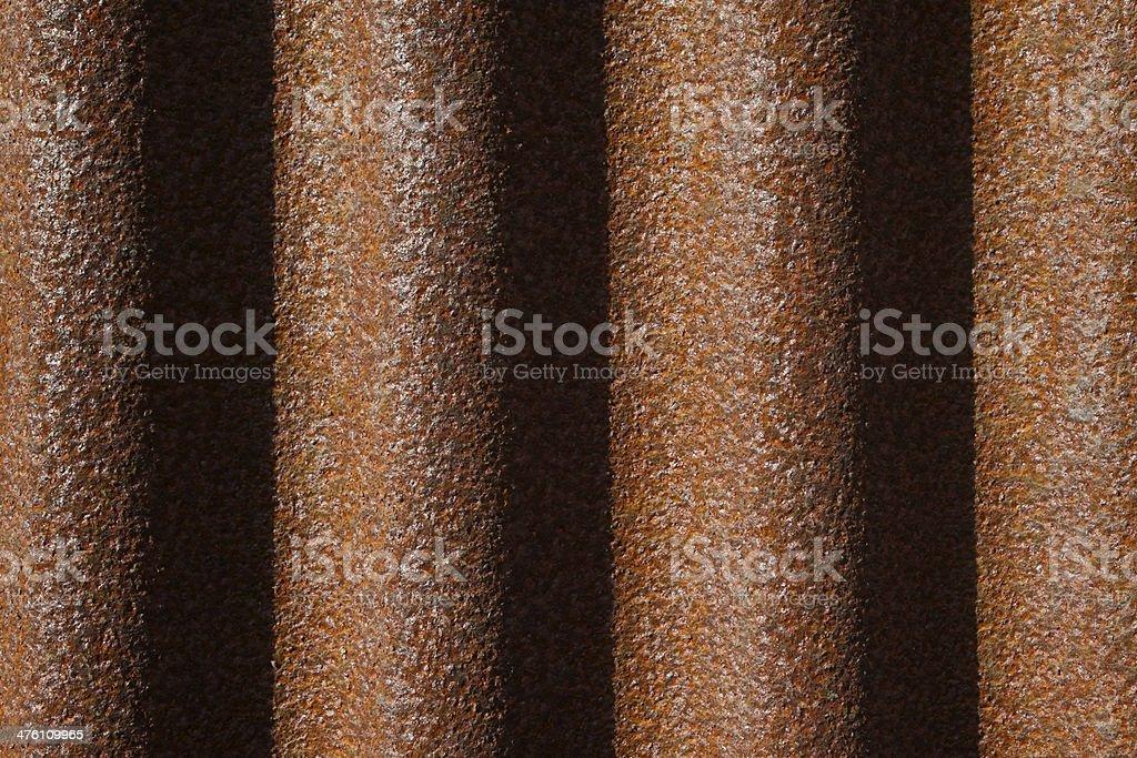 oxide waveform iron plant royalty-free stock photo
