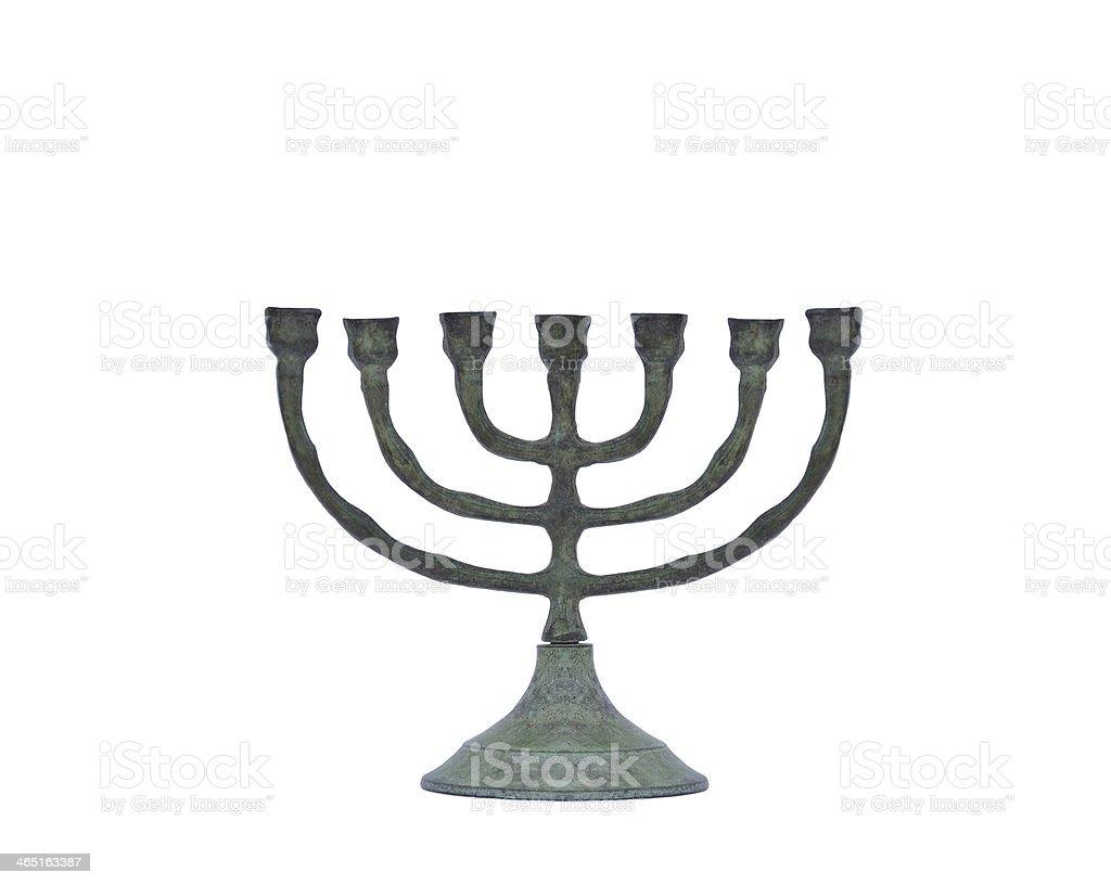 Oxidized Candle Holder royalty-free stock photo