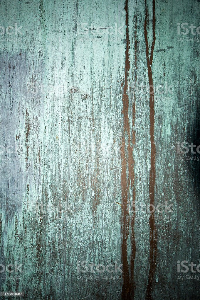 oxidized copper royalty-free stock photo