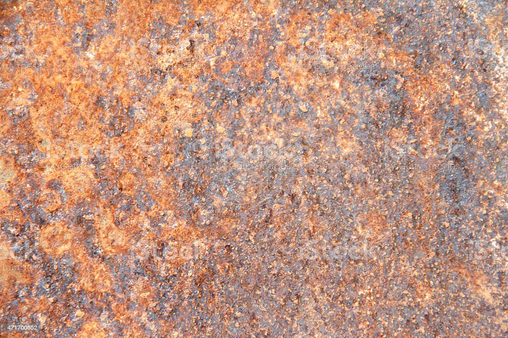 oxidized metal surface making an abstract texture high resoluti