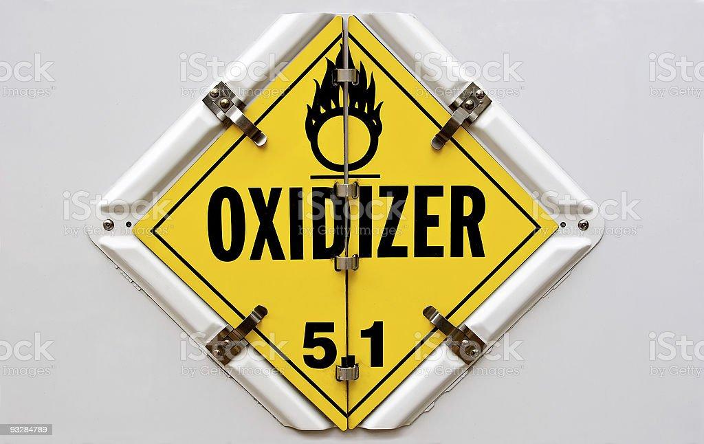 Oxidizer royalty-free stock photo