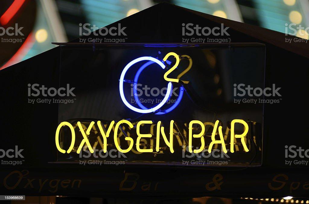 Oxygen Bar stock photo