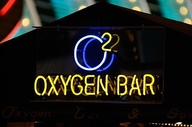 oxygen bar - oxygène phénomène naturel photos et images de collection