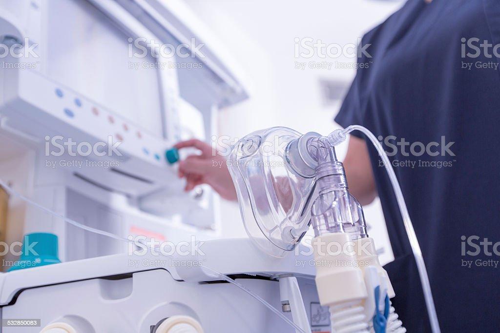Oxygen Mask stock photo