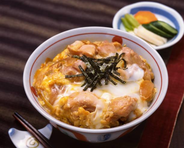 oyakodon - 丼物 ストックフォトと画像