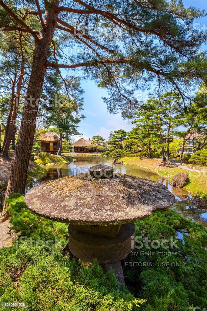 Oyakuen Medicinal Herb Garden In The City Of Aizuwakamatsu Fukushima Japan Stock Photo Download Image Now Istock